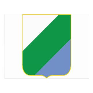 アブルッツォ(イタリア)の紋章付き外衣 ポストカード
