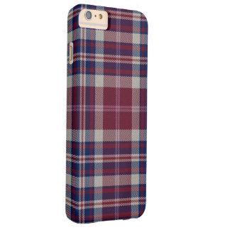 アプローチ湖のタータンチェック格子縞 BARELY THERE iPhone 6 PLUS ケース