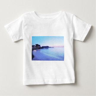 アベリストウィスの海前部 ベビーTシャツ