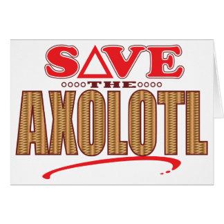 アホロートルの保存 カード