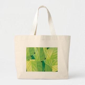 アボカドの葉の予算のトート ラージトートバッグ
