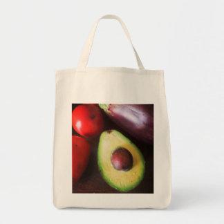 アボカドの食料雑貨のトート トートバッグ