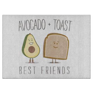 アボカド + トーストの親友のまな板 カッティングボード