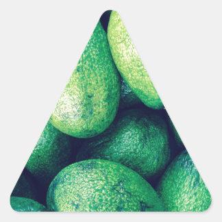 アボカド 三角形シール・ステッカー