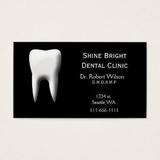アポイントメントカードとの歯科名刺 名刺