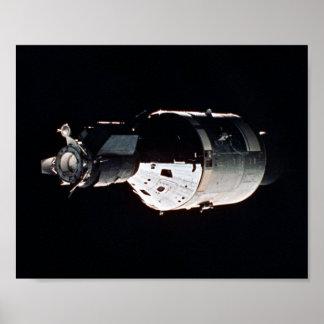 アポロ宇宙船(アポロSoyuzテストプロジェクト) ポスター