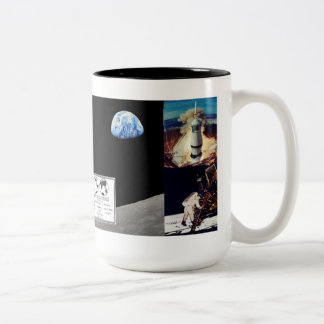 アポロ月の代表団のマグ ツートーンマグカップ