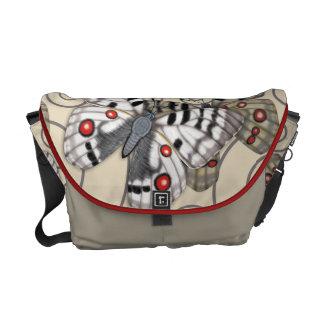 アポロ蝶ライト メッセンジャーバッグ