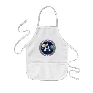 アポロ計画のロゴ 子供用エプロン