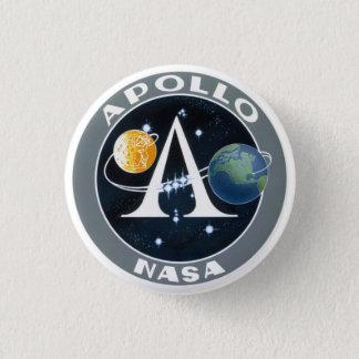 アポロ計画の代表団パッチボタン 3.2CM 丸型バッジ