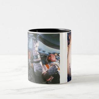 アポロ1災害 ツートーンマグカップ