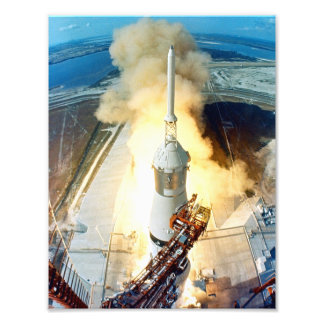 アポロ11進水 フォトプリント