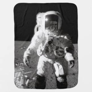 アポロ12 Moonwalk ベビー ブランケット
