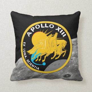 アポロ13 NASAの代表団パッチのロゴ クッション