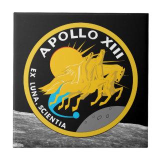 アポロ13 NASAの代表団パッチのロゴ タイル