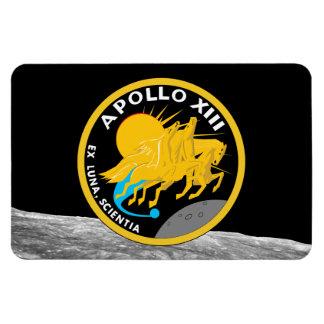アポロ13 NASAの代表団パッチのロゴ マグネット