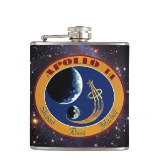 アポロ14 NASAの代表団パッチのロゴ フラスク