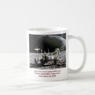 アポロ15月の粗紡機-月のコロニー2022年 コーヒーマグカップ
