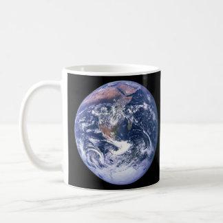 アポロ17から見られる地球別名青い大理石 コーヒーマグカップ