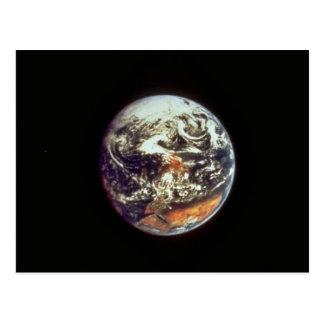 アポロ17から、1972年見られるの地球NASAの礼儀 ポストカード