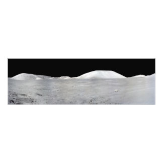 アポロ17パノラマ フォトプリント