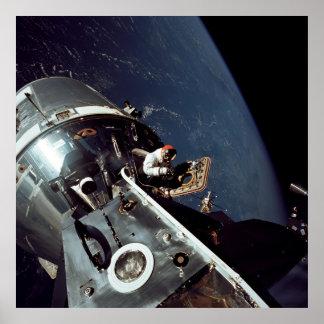 アポロ9命令およびサービスモジュール ポスター