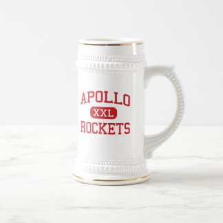 アポロ-ロケット-中間-ハリウッドフロリダ ビールジョッキ