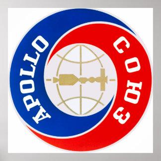 アポロSoyuz代表団のロゴ ポスター
