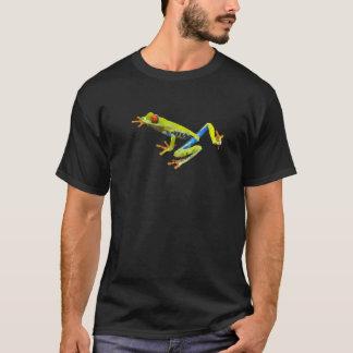 アマガエルの低い多芸術 Tシャツ