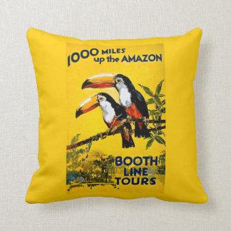 アマゾンブースラインの上の1000マイルはヴィンテージを旅行します クッション