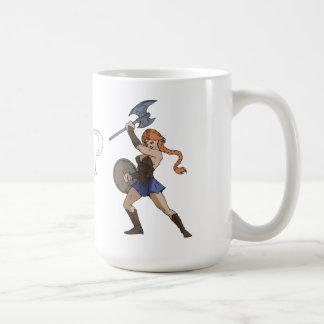 アマゾン及び戦士のマグ コーヒーマグカップ