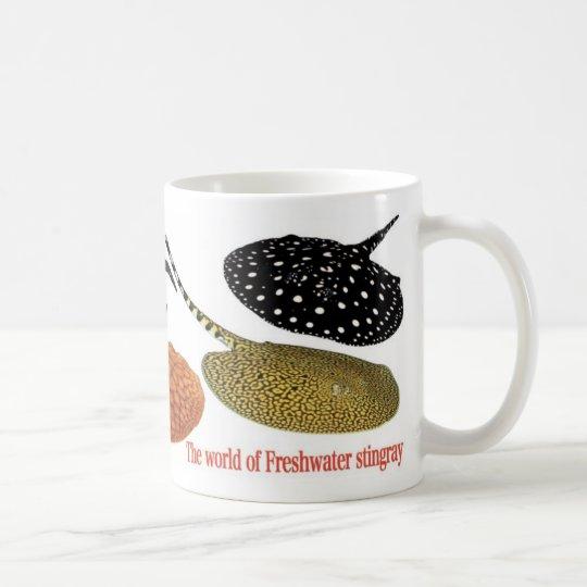 アマゾン淡水エイ コーヒーマグカップ