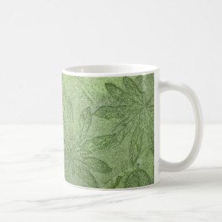 アマゾン葉 コーヒーマグカップ