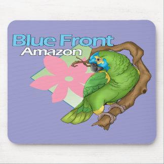 アマゾン青い前部マウスパッド マウスパッド