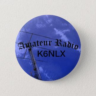 アマチュアラジオおよび呼出符号 缶バッジ