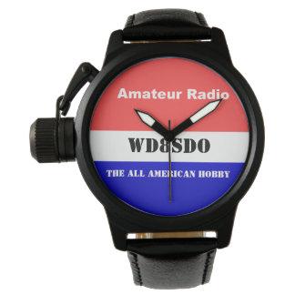 アマチュアラジオすべてのアメリカの趣味 腕時計