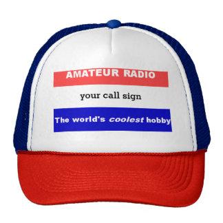 アマチュアラジオ-世界で最もクールな趣味のトラック運転手 キャップ