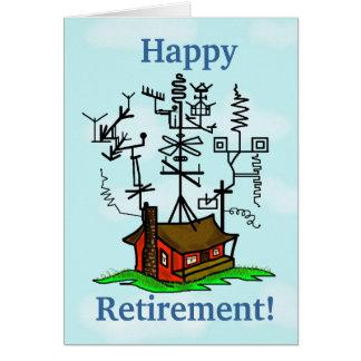 アマチュア無線の退職の挨拶状はそれをカスタマイズ! カード