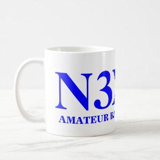 アマチュア無線オペレータ コーヒーマグカップ