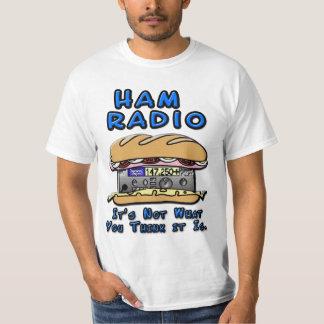 アマチュア無線サンドイッチ Tシャツ