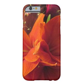 アマリリスの花 BARELY THERE iPhone 6 ケース