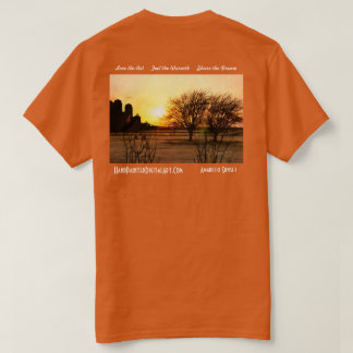 アマリロの日没 Tシャツ