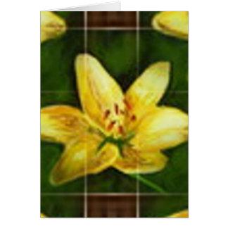 アマリロの花 カード