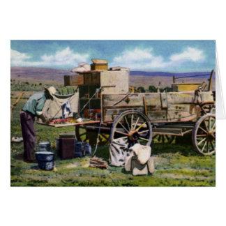 アマリロテキサス州のチャックワゴン カード