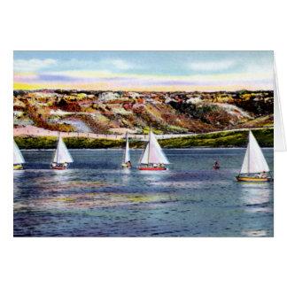 アマリロテキサス州のbuffalo湖の航行 カード