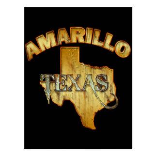 アマリロ、テキサス州 ポストカード