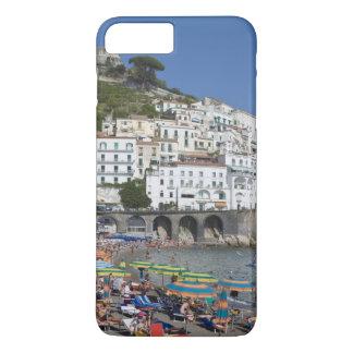 アマルフィのカンパニア州、イタリアのビーチ iPhone 8 PLUS/7 PLUSケース