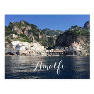 アマルフィの海岸のイタリアの郵便はがき はがき