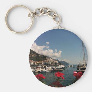 アマルフィの海岸の美しい写真、イタリア キーホルダー