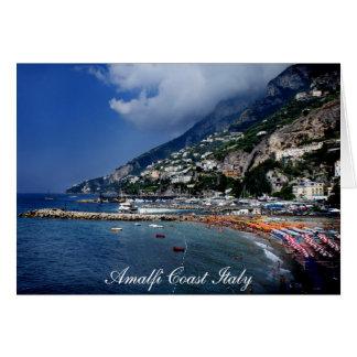 アマルフィの海岸イタリア カード